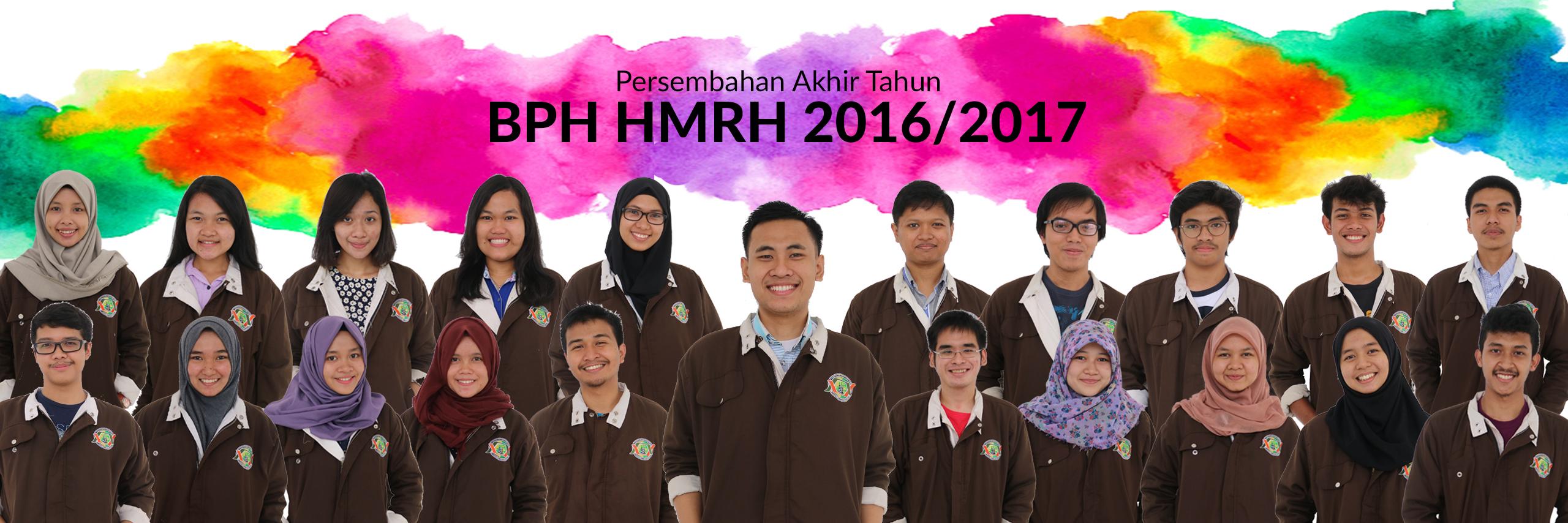 Sebuah Semangat : HMRH Peduli, Responsif dan Produktif